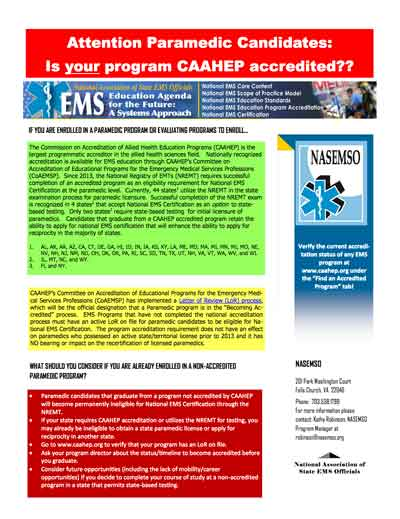 attention-ems-paramedic-accreditation-candidates